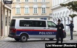 Окрестности синагоги в центре Вены, где произошло нападение, 2 ноября 2020 года.