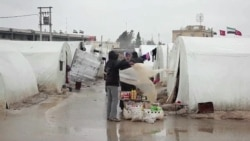 Syrians Displaced By War Struggle To Survive
