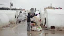 Ftohtë dhe uri në kampet siriane