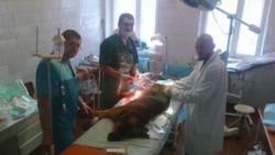 Военно-полевая хирургия в Попасной
