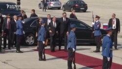 Medvedev i Vučić na vojnoj vežbi 'Sloboda 2019'