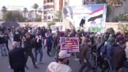 Protestçiler Bagdatdaky ABŞ ilçihanasynyň çäklerinden çekilýär