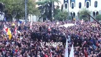 Водометы и митинги: чего требуют протестующие в Тбилиси