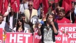 Світ у відео: У Кишиневі протестували проти підписання угоди про асоціацію з ЄС