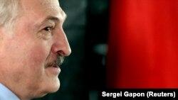 Authoritarian Belarusian leader Alyaksandr Lukashenka (file photo)