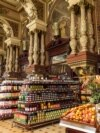 Russia -- Famous grocery store Eliseevsky