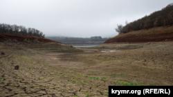 Крим, Сімферополь, Партизанське водосховище, 2020 рік