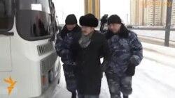 Акция протеста у посольства России в Астане