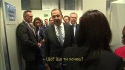 Голова МЗС Росії назвав оператора Reuters «дебілом» (відео)