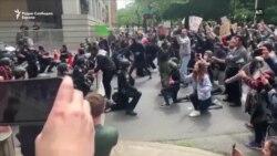 Насилство, но и солидарност и мирољубивост на протестите во САД