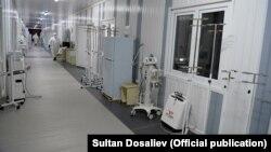 Одна из больниц в Кыргызстане. Апрель 2021 года.