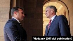 Maqedoni e Veriut - Bullgari: Kryeministri i Maqedonisë së Veriut, Zoran Zaev dhe Kryeministri i Bullgarisë, Stefan Janev