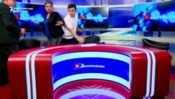 Georgian Politicians Fight During Live TV Debate