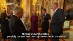 Cameron Discusses 'Fantastically Corrupt' Countries With Queen