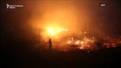 Во Грција горат 50 шумски пожари