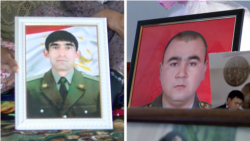 Fallen Officers' Families Grieve In Wake Of Conflict On Kyrgyz-Tajik Border