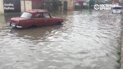 Потоп в Баку. Жители не унывают
