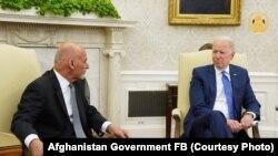 АКШ жана Ооганстан президенттеринин Вашингтондогу жолугушуусу. 25-июнь, 2021-жыл.
