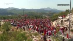 Cetinje: Skup protiv ustoličenja mitropolita SPC