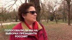 Опитування кримчан: «Відповідальні люди на вибори не ходять» (відео)