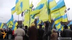 Ցուցարարները Կիևում շարունակում են մնալ փողոցներում
