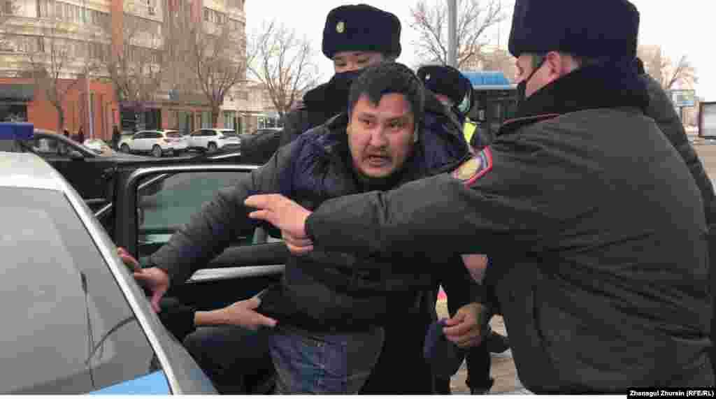 Történtek letartóztatások Aktobe városában is.