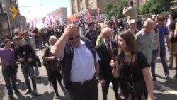 """Геннадий Гудков на марше """"За вашу и нашу свободу"""""""
