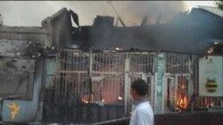 Столкновения в городе Ош