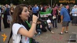 Демонстрация против химоружия