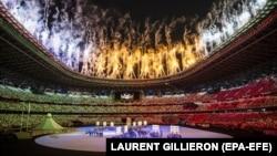 Олімпіада-2020: церемонія відкриття Ігор у Токіо (фоторепортаж)