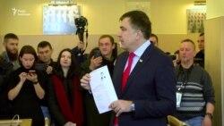 Суд почав розгляд позову Саакашвілі проти Порошенка (відео)