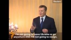 رئیس جمهور اوکراین میگوید استعفا نخواهد داد