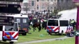 Нидерланды мен Тунистегі наразылық