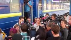 Задержанные в зоне АТО журналисты вернулись в Крым