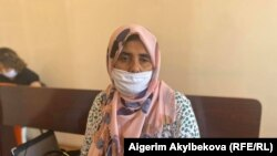 Хадича Аскарова, супруга скончавшегося в заключении правозащитника Азимжана Аскарова.