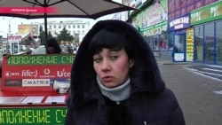 Обстреливаемый Донецк: что говорят на улицах города (видео)