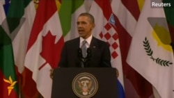 Obama: 'The Contest Of Ideas Continues'