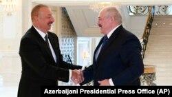 İ.Əliyev və A.Lukaşenko