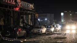 Pamje pas shpërthimit në Ferizaj