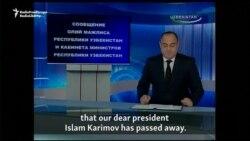 Uzbekistan Announces The Death Of President Islam Karimov