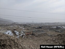 The fortified border of Armenia/Azerbaijan (Naxcivan)