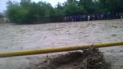 Flood Waters In Tajikistan
