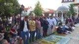 Ceremonia e faljes së Kurban Bajramit