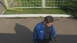 Грузія - Расія, перад матчам у Менску