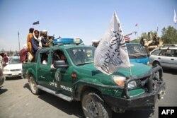 Талибы на улицах Кабула. 16 августа 2021 года