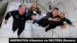 Civilek az űrben
