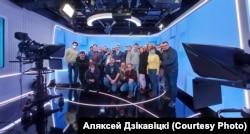 "Журналисты телеканала ""Белсат"""