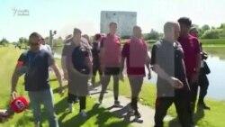 Ronaldo jurnalistin mikrofonunu gölə atdı