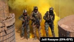 ارشیف، افغان ځواکونه د عملیاتو پر مهال