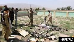 عملیات نیروهای افغان در تخار